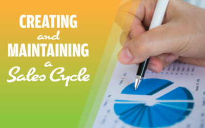 Creating and Maintaining a Sales Cycle